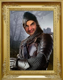 Mr Bean dans des tableaux célèbres