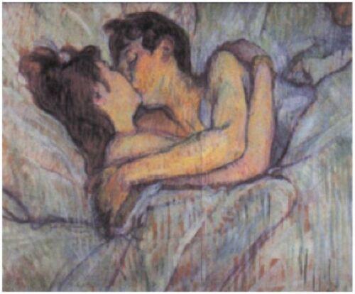 Tableau représentant l'amour