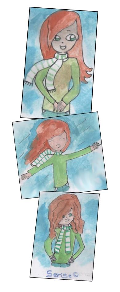 Mes cheveux et le vent, ça fait deux!