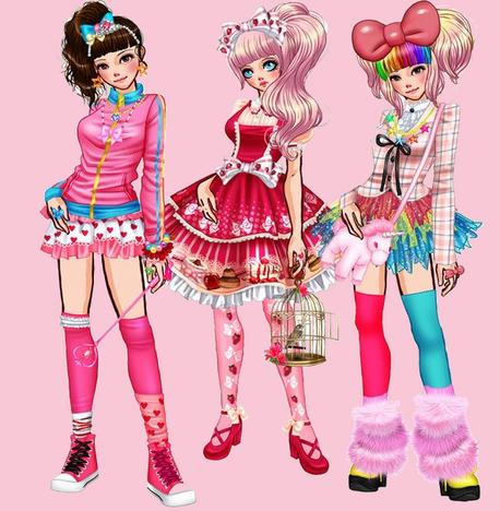 3 tenue Kawaii !!