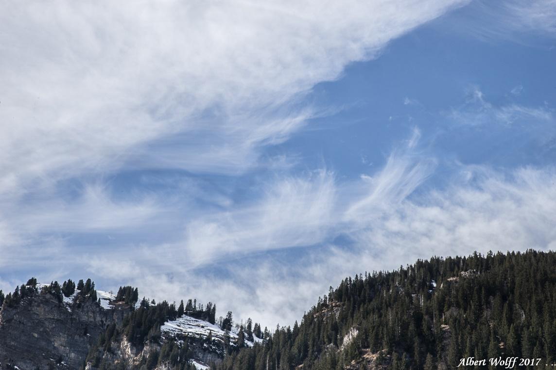 Les ciels de Châtel - 1 -