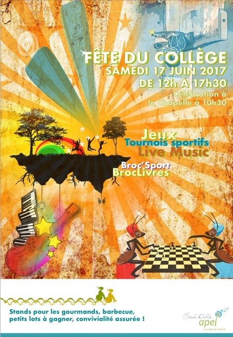 ⚐ Samedi 17 juin : Fête du Collège, à vos agendas !!