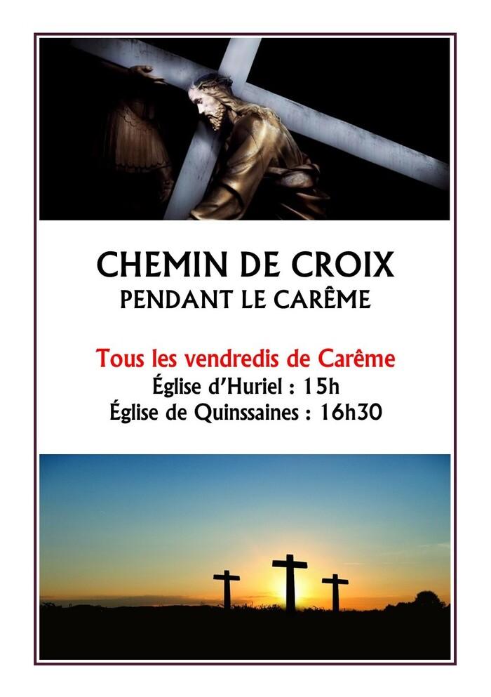 Chemin de Croix pendant le Carême