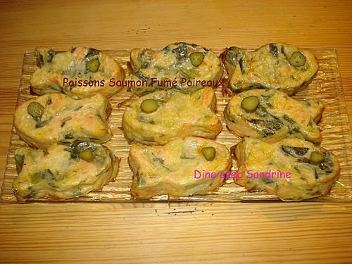 Poissons Saumon Fumé Poireaux 8