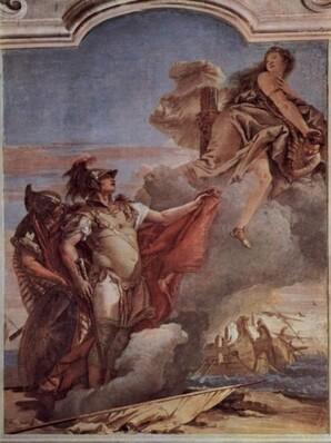 Vénus & Enée-Giovanni Battista Tiepolo