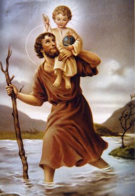 Saint Christophe, porte Christ - boutique religieuse