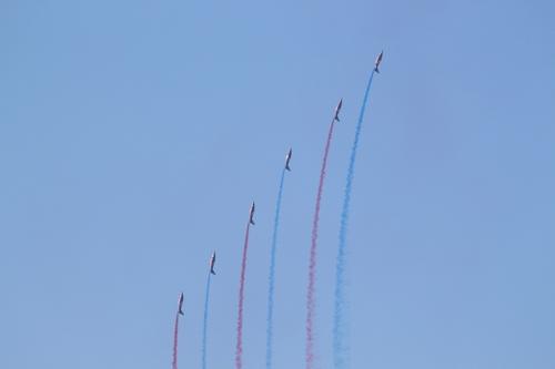 12 Septembre2019 entrainement  Patrouille de France aerodrome Arbouans