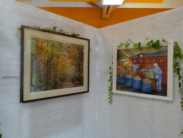 Le salon d'automne 2014 à Chamesson