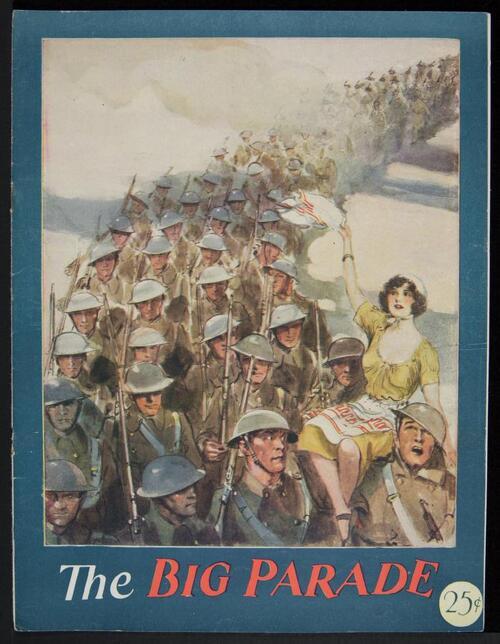 THE BIG PARADE PRESSBOOK 1926