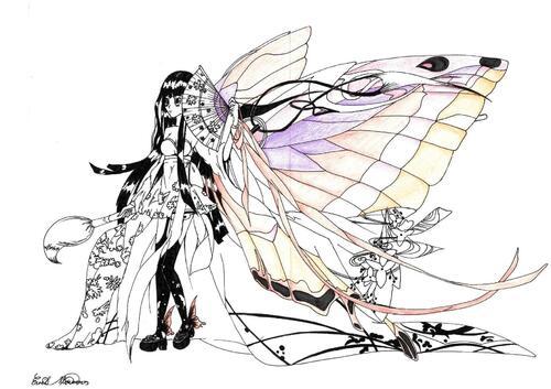 Papillon japonais