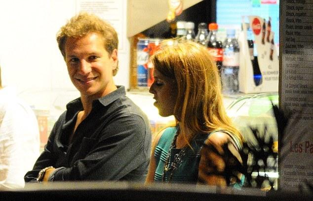 Beatrice et Dave à Saint Tropez