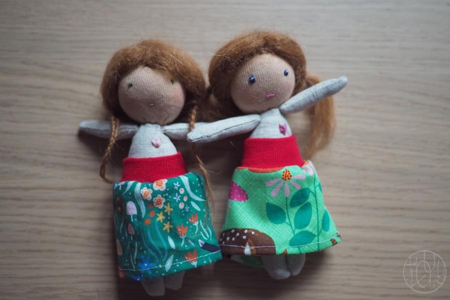 Mini poupées Waldorf