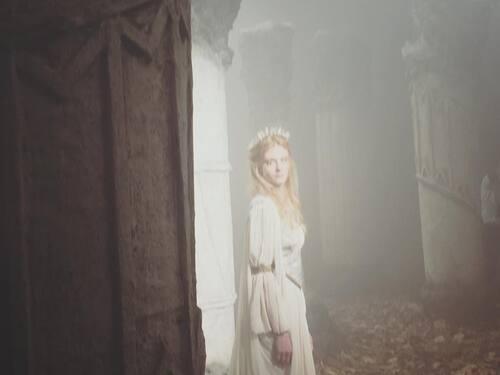 Des Image du tournage de Darkly
