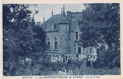 Château du Laber à Roscoff