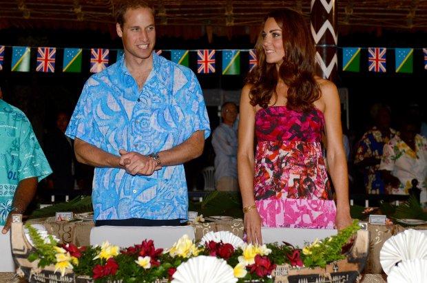 Kate et William chez le gouverneur