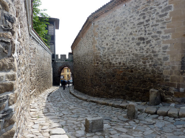 Jour 9 - Plovdiv - Porte Hisar Kapiya de la forteresse