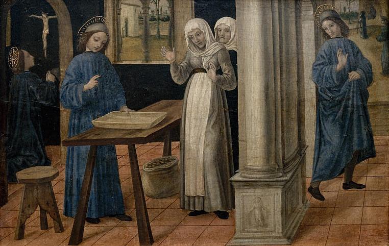 Saint Benoît. Benoît de Nursie, patriarche des moines d'Occident († v. 547)