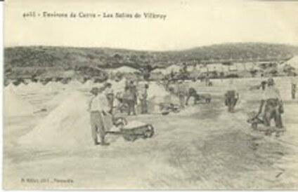 - Sète 8 - Les salins de Villeroy  2  :  son récent passé -