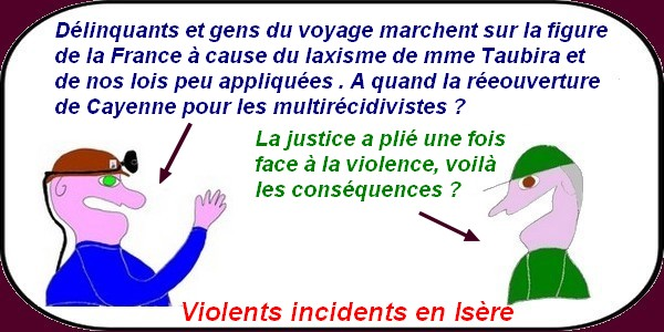 incidents en Isère
