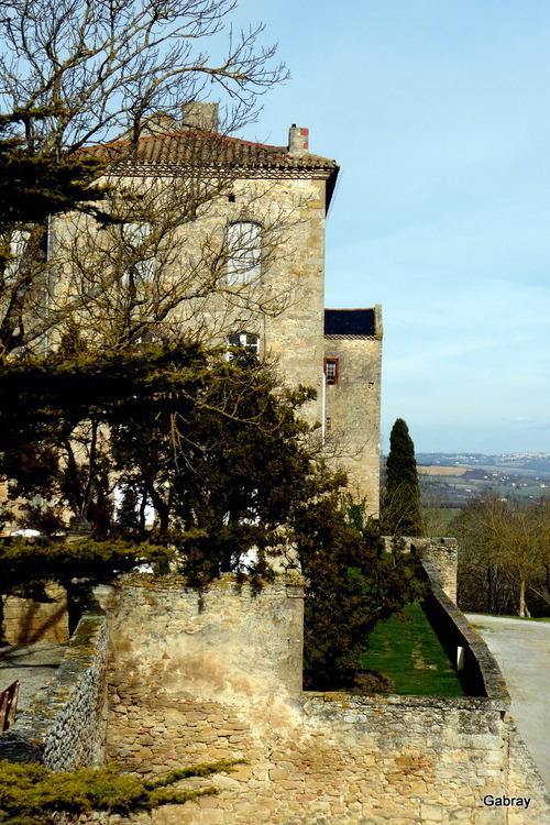 Saint Félix de Lauragais: le château