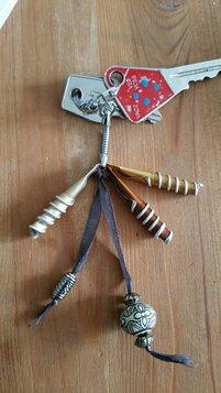 Porte clés récup'