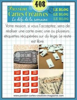 Passion Cartes Créatives #408