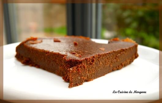 Le moelleux chocolat compote
