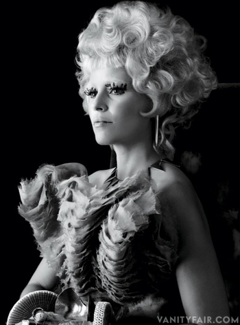 hunger games catching fire elizabeth-banks vanity fair