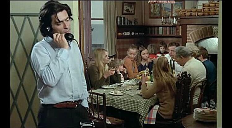 ROMY SCHNEIDER-YVES MONTAND-CLAUDE SAUTET-CESAR ET ROSALIE-1972