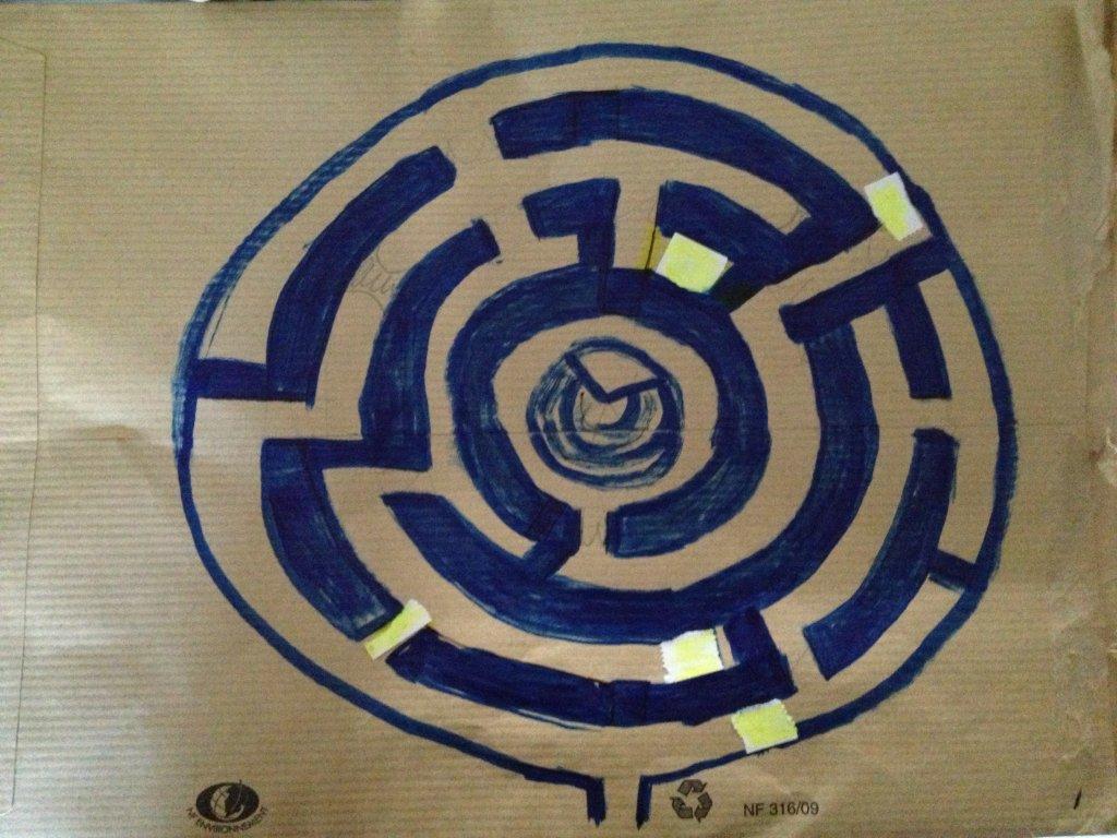 Nouveau plan du labyrinthe