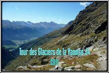 Tour des glaciers de la Vanoise J4 Du Refuge du Col de la Vanoise au Refuge de l'Arpont
