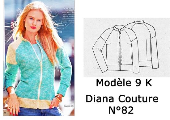 Modèle 9 K Diana Couture 82 copie