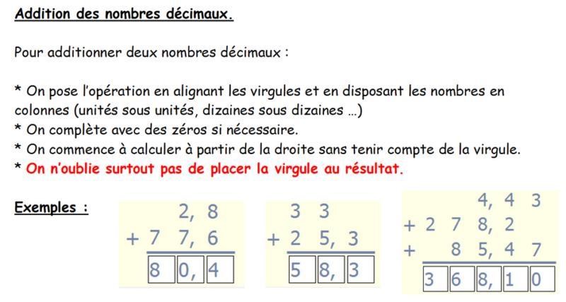 Maths cm1 page 5 la classe de cm1 cm2 d 39 oxelaere rpi2 for Poser une soustraction