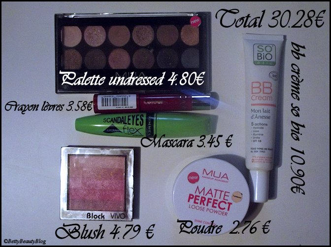 SMUF ma trousse make up à 30€