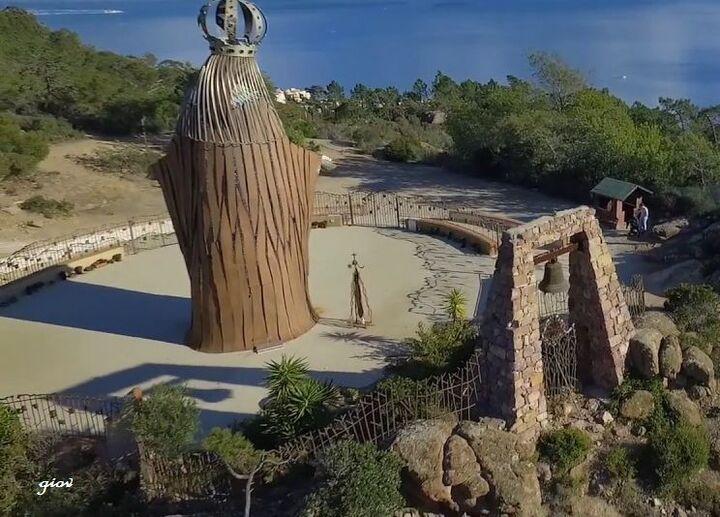 Notre Dame d'Afrique ( au dessus de Théoules)
