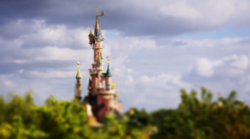Disneyland Paris - Tilt Shift