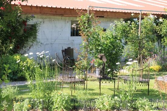 Le jardin du temps passé