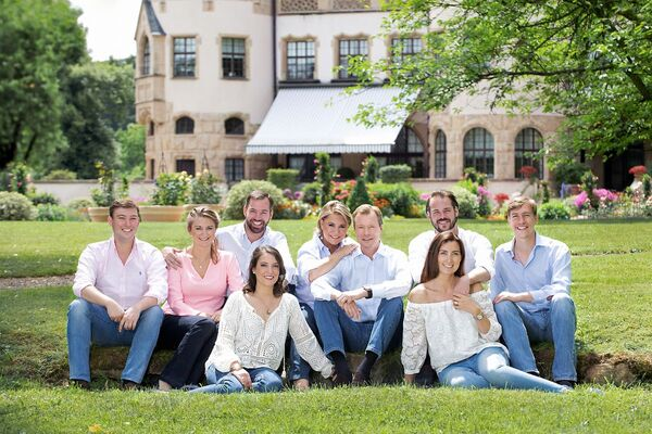 Famille Grand Ducal du Luxembourg