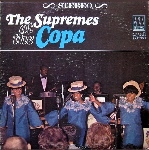 """The Supremes : Album """" The Supremes At The Copa """" Motown Records MS 636 [US]"""