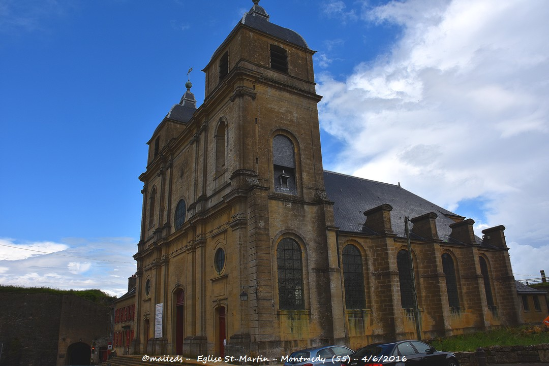 Eglise Saint-Martin - Montmédy - Meuse (55)