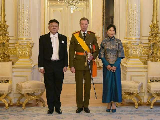 Accréditations de nouveaux Ambassadeurs au Luxembourg