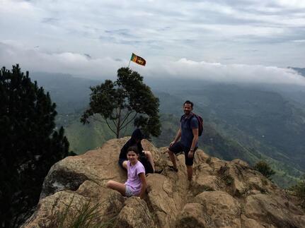 Le Sri Lanka n'est donc pas plat...