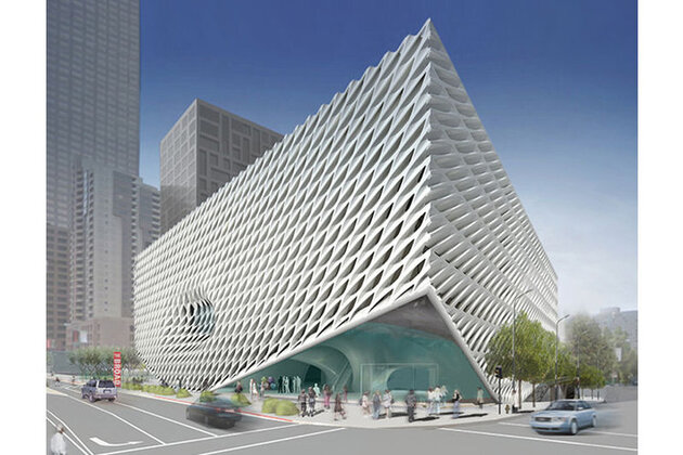 The Broad : un carré d'art pour Los Angeles