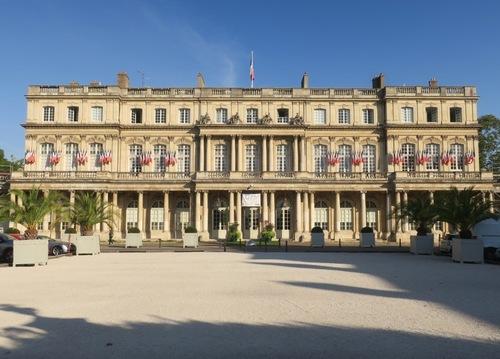 Le Palais du Gouvernement à Nancy
