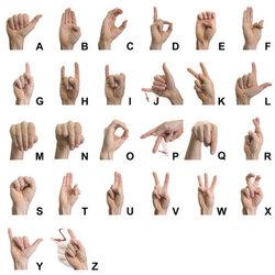 Initiation à la langue des signes