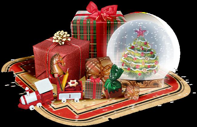 tube noêl jouet et cadeau