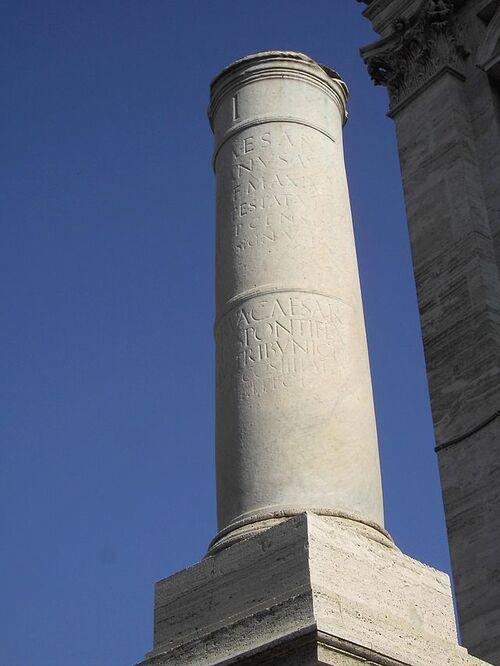 La Via Appia...