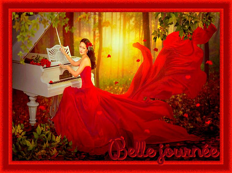 Belles en Rouge....