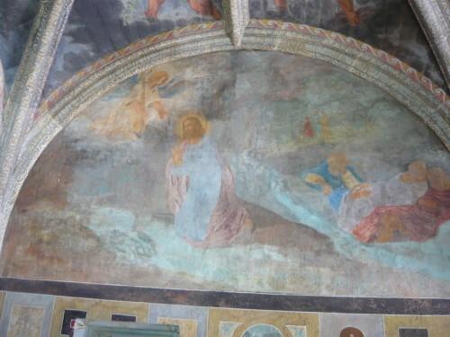 Villesavin - Fresques de la Chapelle