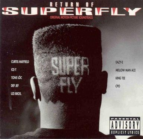 "1990 : Album "" Return Of Superfly "" Capitol Records C1 94244 / CDP 79 4244 2 [ US ]"